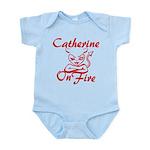 Catherine On Fire Infant Bodysuit