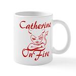 Catherine On Fire Mug