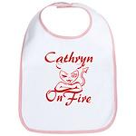 Cathryn On Fire Bib
