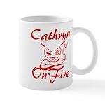 Cathryn On Fire Mug
