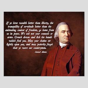 Samuel Adams Small Poster