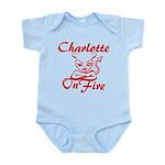 Charlotte On Fire Infant Bodysuit