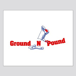 Ground n Pound Small Poster