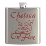 Chelsea On Fire Flask