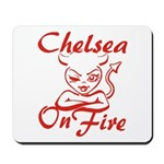 Chelsea On Fire Mousepad
