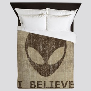 Vintage Alien (I Believe) Queen Duvet