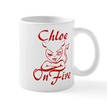 Chloe On Fire Mug