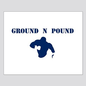 Ground and Pound Small Poster