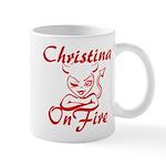 Christina On Fire Mug