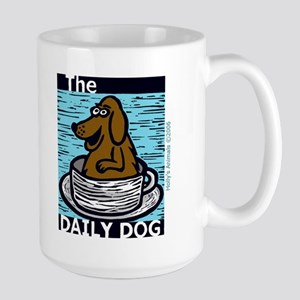 The Daily Dog & That's Furbulous Large Mug