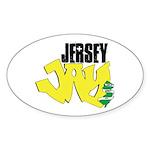 Jersey Jay logo Sticker (Oval)