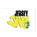 Jersey Jay logo Postcards (Package of 8)