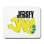 Jersey Jay logo Mousepad