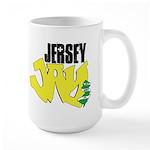 Jersey Jay logo Large Mug