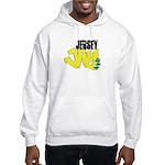 Jersey Jay logo Hooded Sweatshirt