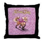 Frieda The Fox Throw Pillow