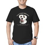 Man's Best Friend Men's Fitted T-Shirt (dark)