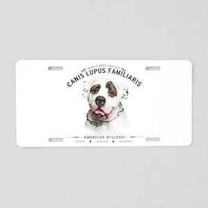Man's Best Friend Aluminum License Plate