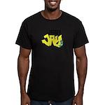 Jersey Jay logo Men's Fitted T-Shirt (dark)