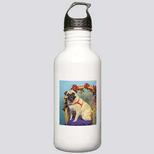 Cloud Angel & Fawn Pug Stainless Water Bottle 1.0L
