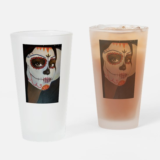 Day of the Dead Drinking Glass