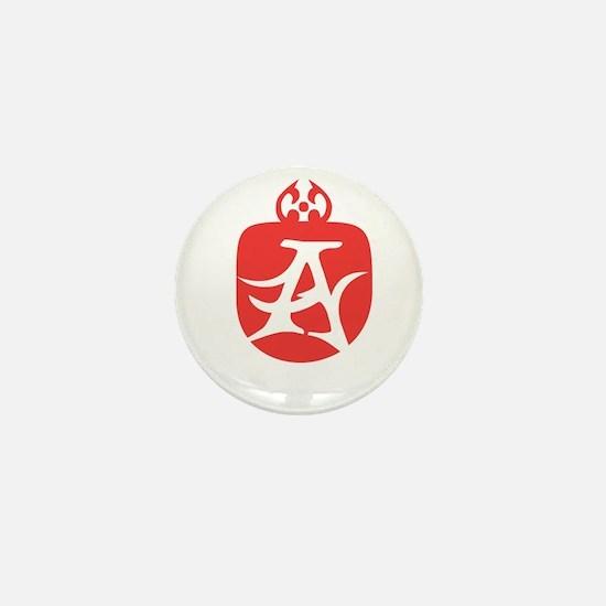 Alt UA Scarlet Letter A Mini Button (10 pack)