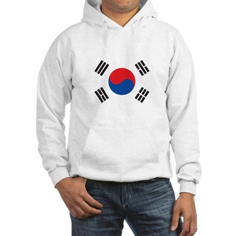 South Korea Men's Custom Flag Hoodie Vzs8w