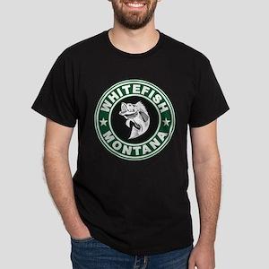 Whitefish Green Circle Dark T-Shirt