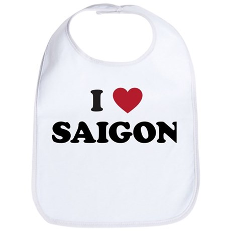 I Love Saigon Bib