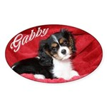 Gabby Oval Sticker