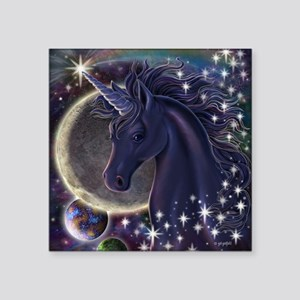 "Stellar Unicorn Square Sticker 3"" x 3"""