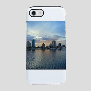 St Pete Skyline iPhone 7 Tough Case