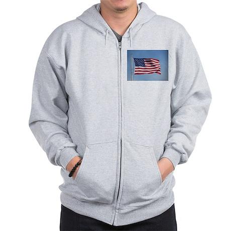 usa american flag Zip Hoodie