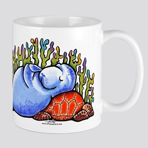 Sea Turtle n Manatee Mug
