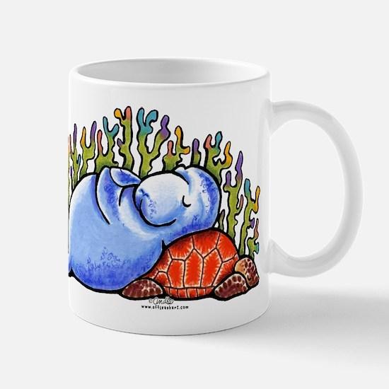 Sea Turtle n Manatee Mug
