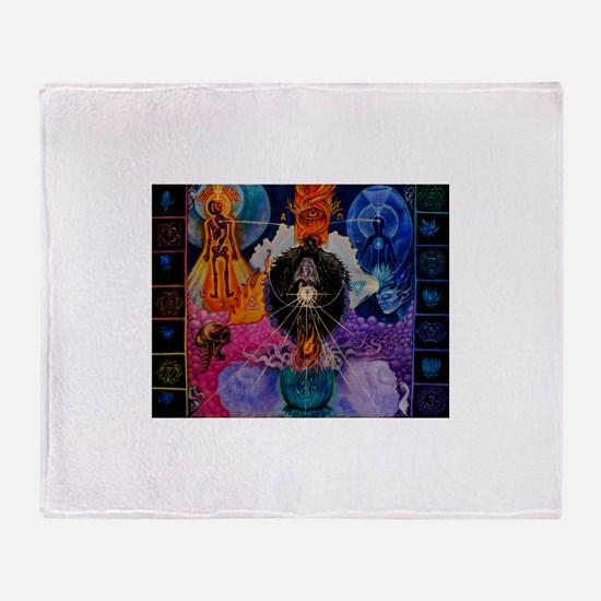 Kundalini Throw Blanket