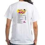 Special White Map T-shirt
