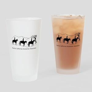 RCHA dark logo Drinking Glass