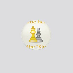 Personlized King Shirt Mini Button