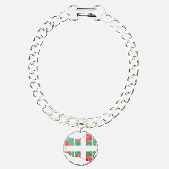Basque Flag And Map Bracelet