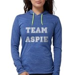 Team Aspie Womens Hooded Shirt