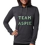 Team Aspie Womens Hooded Shirt