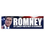 Not a Commie Sticker (Bumper)