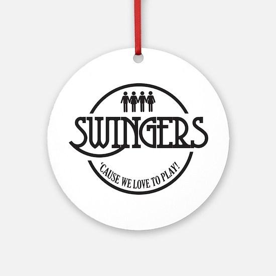 Swingers Ornament (Round)