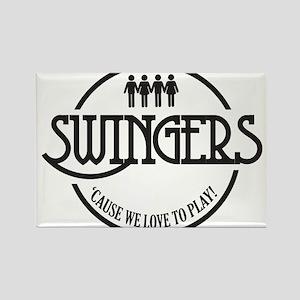 Swingers Rectangle Magnet