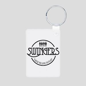 Swingers Aluminum Photo Keychain