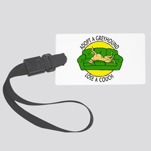 Lose a Couch (G) Large Luggage Tag