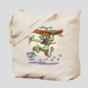 Surfin' Stu Tote Bag