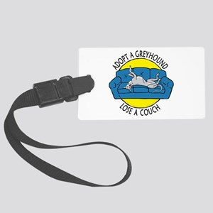 Lose a Couch (B) Large Luggage Tag