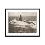 USS MEDREGAL Framed Panel Print